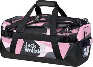 Fioletowa torba sportowa Jack Wolfskin