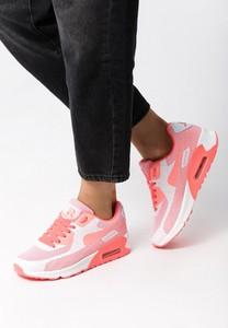 Buty sportowe born2be w sportowym stylu sznurowane z płaską podeszwą