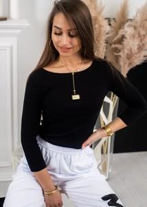 Bluzka Fason z bawełny z długim rękawem w stylu casual