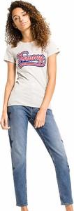 T-shirt Tommy Jeans w stylu vintage z krótkim rękawem