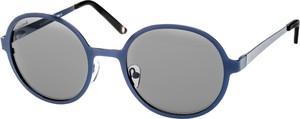 Granatowe okulary damskie Montana