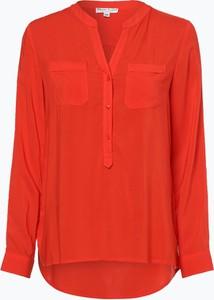 Czerwona bluzka Marie Lund z długim rękawem