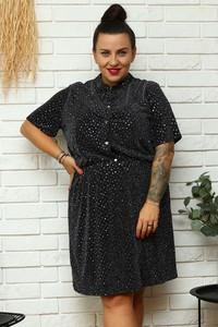 Sukienka KARKO z tkaniny mini