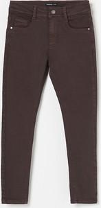 Brązowe spodnie dziecięce Reserved