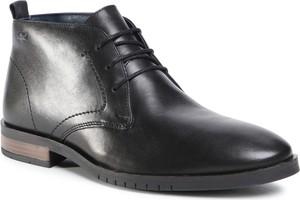 Czarne buty zimowe S.Oliver
