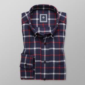 Granatowa koszula Willsoor z długim rękawem