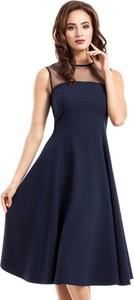 Sukienka MOE midi z tiulu