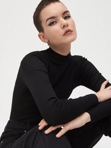 Bluzka Cropp w stylu casual z długim rękawem