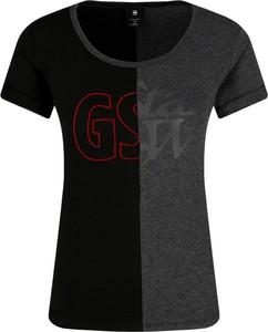 Czarny t-shirt G-Star Raw z okrągłym dekoltem w stylu casual z krótkim rękawem