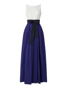 Niebieska sukienka Ralph Lauren maxi