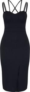 Czarna sukienka WAL G.