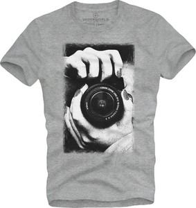 T-shirt Underworld z krótkim rękawem z bawełny