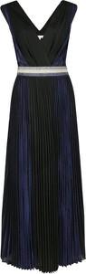 Granatowa sukienka Silvian Heach maxi