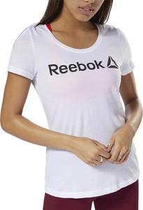 T-shirt Reebok z dzianiny z krótkim rękawem