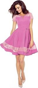 Sukienka Bergamo mini rozkloszowana