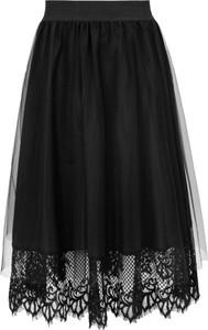 Czarna spódnica Makover z tiulu