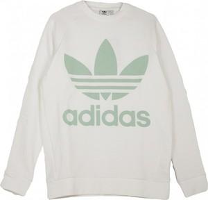 Sweter Adidas z okrągłym dekoltem