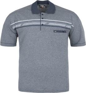 Koszulka polo Jujo z krótkim rękawem z jeansu w stylu casual