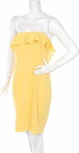 Sukienka Top Secret gorsetowa mini bez rękawów
