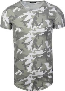 T-shirt Bless z jeansu w street stylu z krótkim rękawem