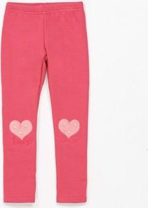 Różowe legginsy dziecięce Multu