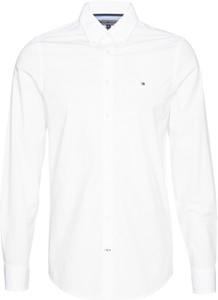 beed7fd105d24 Koszula Tommy Hilfiger z długim rękawem z bawełny z kołnierzykiem button  down