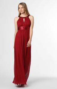 Czerwona sukienka Marie Lund z satyny