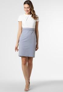 Niebieska sukienka S.Oliver Black Label prosta mini