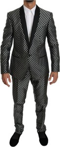 Czarny garnitur Dolce & Gabbana