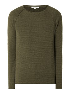 Zielony sweter Review z bawełny