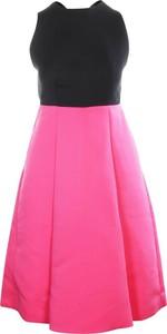 Różowa sukienka Kate Spade Pre-owned bez rękawów z okrągłym dekoltem