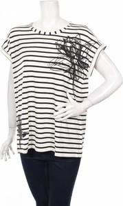 Bluzka Clarina Collection w młodzieżowym stylu z okrągłym dekoltem
