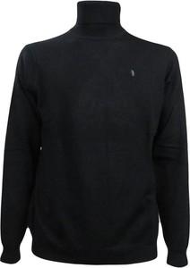 Czarny sweter Refrigue w stylu casual