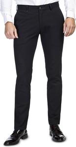 Granatowe spodnie Giacomo Conti w stylu casual