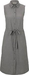 Sukienka Tom Tailor bez rękawów z bawełny
