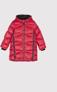Czerwona kurtka dziecięca COCCODRILLO dla dziewczynek