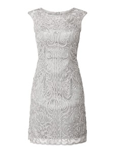 Srebrna sukienka Luxuar