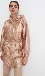 Złota kurtka Mohito w stylu casual