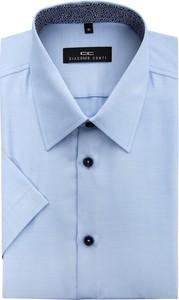 Błękitna koszula giacomo conti