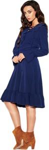 Sukienka Lemoniade midi z długim rękawem