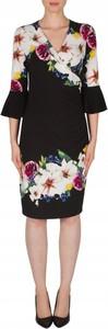 Sukienka Joseph Ribkoff z tkaniny z długim rękawem