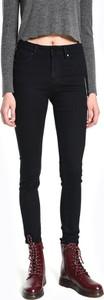 Czarne jeansy Gate z bawełny