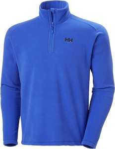 Niebieska bluza Helly Hansen z polaru w sportowym stylu