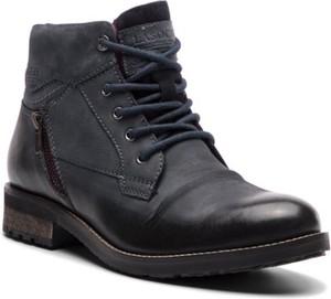 Granatowe buty zimowe Lasocki For Men