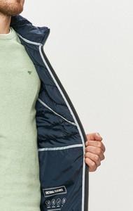 Niebieska kurtka Tom Tailor krótka w stylu casual