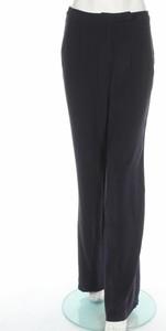 Granatowe spodnie American Vintage w stylu retro