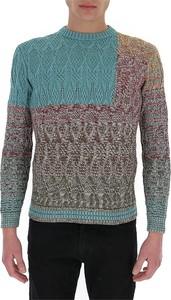 Zielony sweter Missoni z okrągłym dekoltem w młodzieżowym stylu