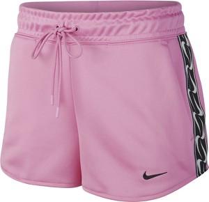 Różowe szorty Nike