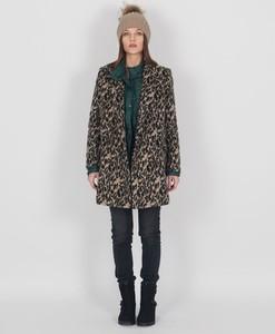 Płaszcz Chattawak w stylu casual z wełny