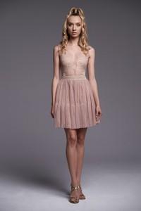 Sukienka Ella Boutique bez rękawów mini z tiulu